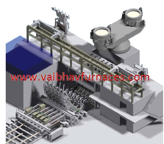 3D Of Casing Plant For Steel