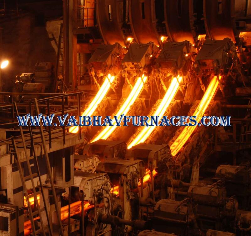 WITHDRAWL OF CONTINUOUS CASTING MACHINE