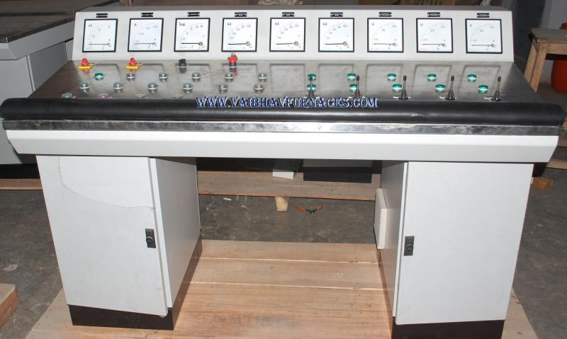 Control Desk For Small Furnace