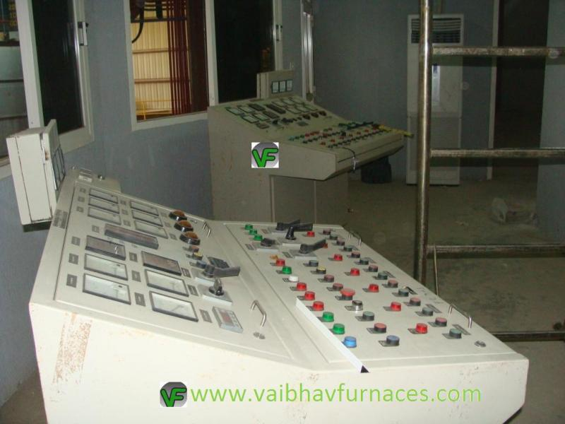 Control Desk For Furnace Operation
